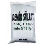 FeSO4 Demir (II) Sülfat - 25 Kg