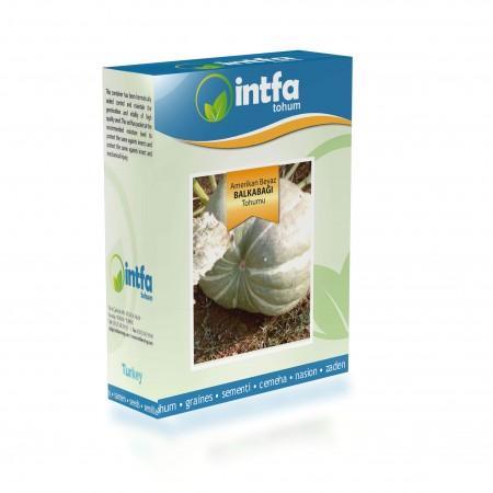 Balkabağı Tohumu Amerikan Beyaz - 100 gr