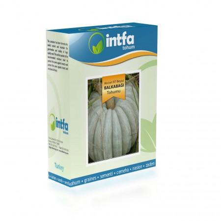 Arıcan 97 Beyaz Balkabağı Tohumu - 100 gr