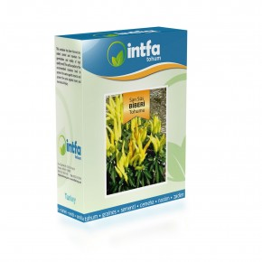 Sarı Süs Biberi Tohumu - 100 gr