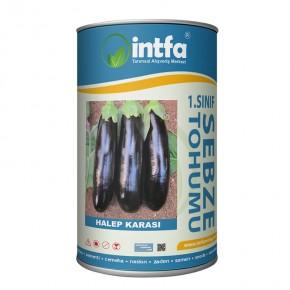 Patlıcan Tohumu Halep Karası - 500 Gr