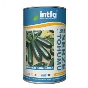 Sofralık Kolsuz Kara Kabak Tohumu - 500 Gr