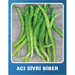 Biber Tohumu Acı Sivri - 10 gr