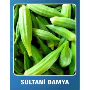 Sultani Bamya Tohumu - 10 gr